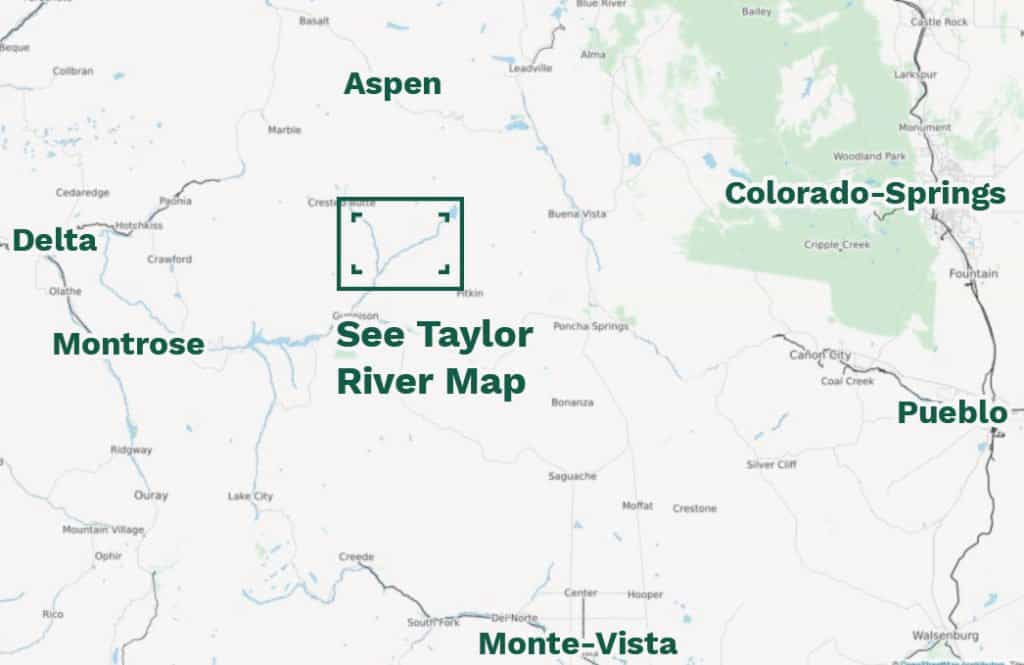 taylor river map