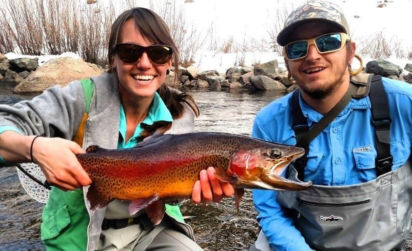 Gunnison River salmon