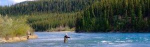 Yukon river fishing