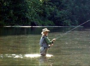 Ozark National Forest fishing