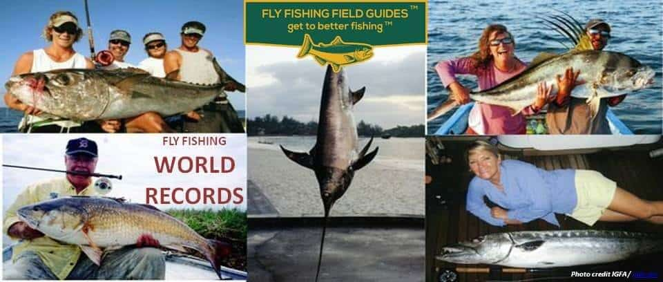 fly fishing world records