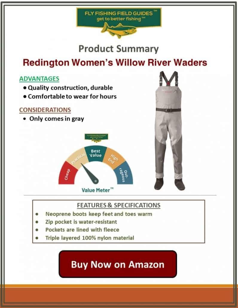 Redington Women's Willow River Waders
