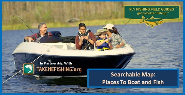 Best Places To Fly Fish Searchable Map