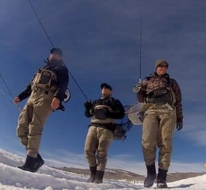 cold weather waders